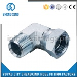 90°BSPT MALE/BSP FEMALE Hydraulic Fittings
