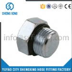 HYDRAULIC METRIC O-RING MALE PLUG