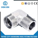 24° METRIC MALE/NPT MALE HYDRAULIC UNION