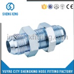 HYDRAULIC JIC MALE BULKHEAD FITTING