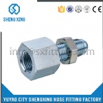HYDRAULIC JIC MALE/BSPT FEMALE FITTING